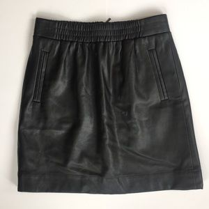 LOFT Skirts - NWT LOFT Faux Leather Skirt